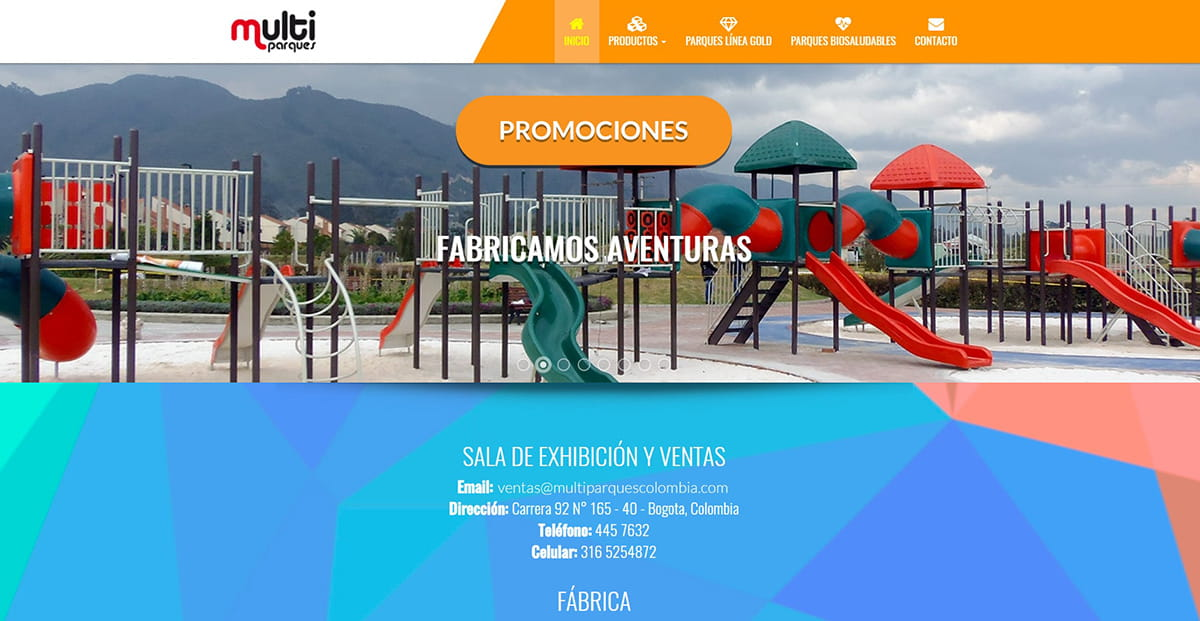 Proyecto web Multiparques
