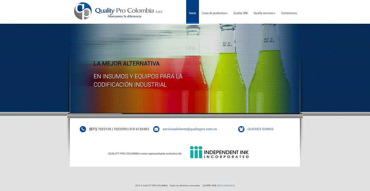 Proyecto web - Quality Pro Colombia